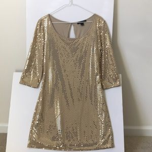 NWOT Express Sequin Mini Dress Size XS